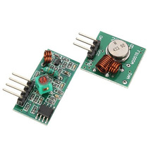 Módulo Rf Transmissor + Receptor 433mhz Am Arduino Pic