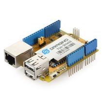 Arduino Yun Shield Wifi, Ethernet, Usb, Linux Openwrt