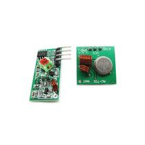 Modulo Rf 433mhz - Kit Transmissor + Receptor Para Arduino