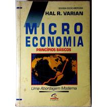 Microeconomia Princípio Básicos - Hal R Varian -frete Grátis