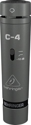Microfone Condensador C-4 - Behringer C4 - Original