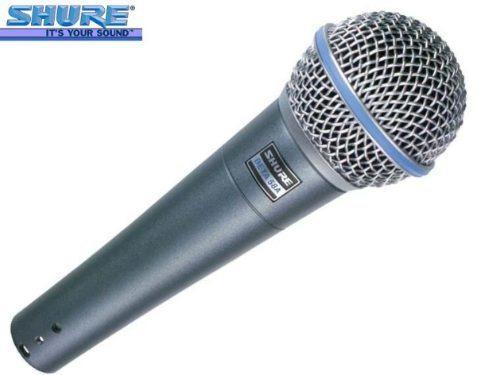 Microfone Shure Beta58a - Beta 58a(ñakg,behringer,tsi)