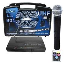 Microfones Sem Fio Leson, Modelo Ls-801ht