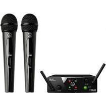 Microfone Duplo Akg Wms40 Pro Dual Mini ++ General Som ++