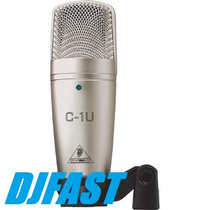 Microfone Condensador Behringuer C1 Usb