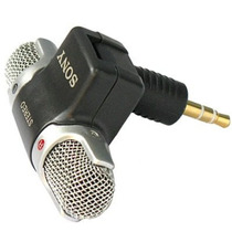 Microfone Mini Sony Ecm-ds70p - Stéreo Com Extensor - Id8888