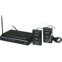 Kit Karsect Kru302 Sem Fio Headset C/transmissor Instrumento