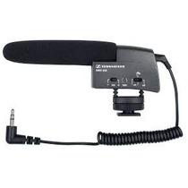 Sennheiser Microfone Shotgun Mke 400 Câmeras De Vídeo