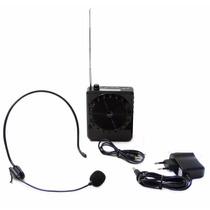 Microfone C Caixa Amplificadora Para Professor Aula Palestra