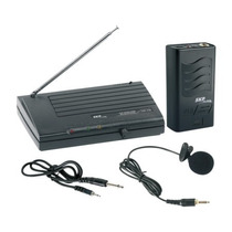 Microfone Sem Fio Lapela Instrumento Vhf Skp 755 - S/ Juros!