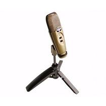 Microfone Cad U37 Usb Condensador Do Estúdio De Gravação