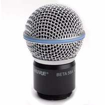 Cápsula Microfone Shure Original Sem Fio Beta58a Rpw118 58a