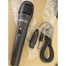 Microfone Para Dvd Home Theater Original Britania Karaoke