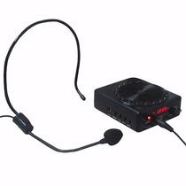 Kit Caixa De Som Professor Microfone Amplificado