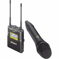 Microfone Sony Uwp D12 De Mão Digital Sub V2 - Sem Fio