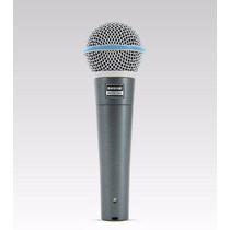 Microfone Shure Beta58a Dinâmico Supercardióide