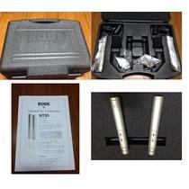 Microfone Rode Nt55 Nt-55 Com Nf-e Par Com + Capsula Nt45