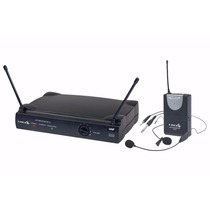 Microfone S/fio Lyco Uh01 Hli Headset E Lapela Uhf Prof Nf-e