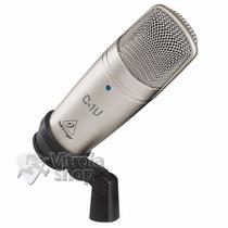 Microfone Condensador Behringer C1u C/ Usb Garantia E Nota
