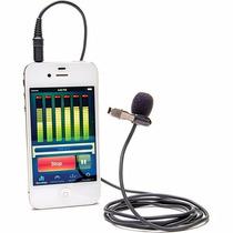 Microfone Lapela Azden Ex503 Para Iphone Ipad Smartphone