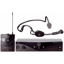 Microfone Sem Fio Akg Pw Sset-c3 45 Sport Headset Pw 45