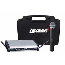 Microfone Lapela, Auricular E Sem Fio Lexsen Lwm-58 Kit