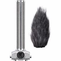 Microfone Zoom Shotgun Sgh-6 Para Gravador H5 E H6 - Capsula