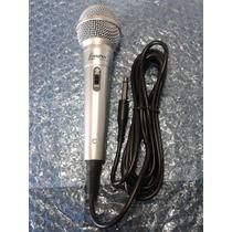 Microfone Karaoke Com Fio Original Lenoxx Novíssimo