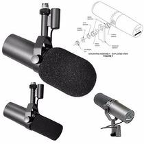 Microfone Shure Sm7b P/ Estúdio De Rádio/produtora/etc