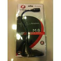 Microfone Pc Notebook Chat Skype Facebook Botão Liga E Desl.