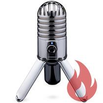 Samson Meteor Mic . Microfone . Áudio Profissional . Gtia !!