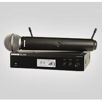 Microfone Shure Blx 24r/sm58-h8