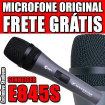 Microfone Senheiser E845s 100% Original Com Frete Grátis