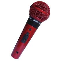 Promoção! Le Son Sm58-p4 Microfone Vocal Vermelho