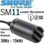 Microfone Shure Sm11. Profissional Lapela/lavalier Mini Sm58