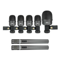 Kit De Microfones Para Bateria Arcano Arc-a7 Maleta