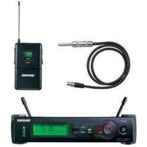 Transmissor Sem Fio Shure Uhf Instrumento Slx - Slx14 Facial
