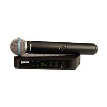 Microfone Sem Fio Shure Sm58beta / Blx24br *garantia 2 Anos