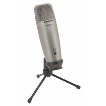 Microfone Profissional Condessador Samson C01u Pro Usb Stud