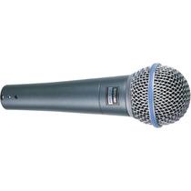 Microfone Shure Dinâmico Supercardióide Para Vocal- Beta 58a