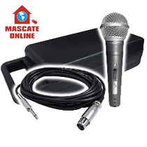 Microfone Profissional Dinâmico. Para Estúdio Vocal Igreja