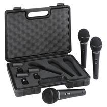 Xm1800s Kit 3 Microfones Behringer Xm 1800 S : Xm1800 +case