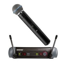 Microfone Shure Pgx24 Sm58 Sem Fio