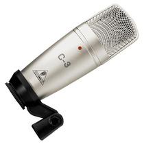 Microfone Com Fio Behringer C3 Condensador D Duplo 5645