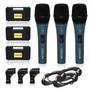 Kit 03 Microfones Sincler A35= Arcano Beta58 Tipo Shure