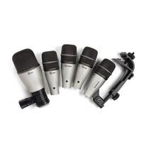 Microfone Samson Kit Dk5 Bateria Na Studio Som João Loja !!