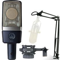 Microfone Akg C214 Condensador