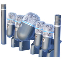 Kit De Microfones Para Bateria Arcano Arc-c7 Beta Maleta