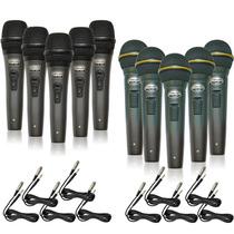 Kit Com 05 Microfones Sincler S-pl-58 A Ou B E Cabo = Arcano