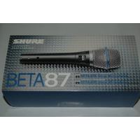 Shure Beta 87a Condensador Vocal Sennheiser Rode Akg Sm 7 57
